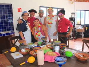Cozumel Salsa and Salsa Excursion, Cooking and Dancing at Playa Mia Beach Club