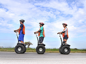 Cozumel Segway Adventure at Cedral with Playa Mia Beach Break Excursion