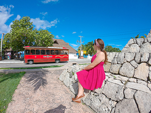 Cozumel Trolley Sightseeing Excursion
