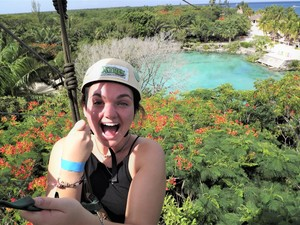 Cozumel Xtrem Park Zipline and Chankanaab Park Adventure Excursion