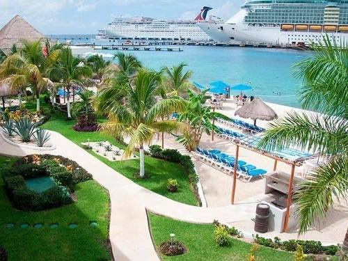 Cozumel Mexico El Cid La Ceiba Resort Beach Break Trip Reservations