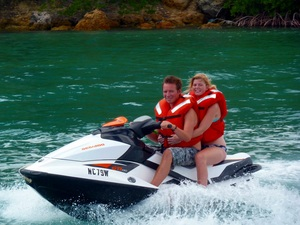 Curacao Guided Jet Ski and Snorkel Excursion