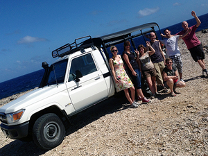 Curacao Off-Road Jeep, Snorkel, and Beach Adventure Excursion