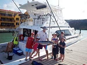 Curacao Private Big Game Deep Sea Fishing Charter Excursion