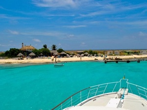 Curacao Private Yacht Charter Excursion to Klein Curacao Island Beach