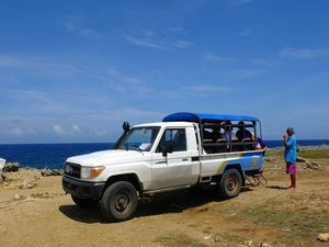 Curacao Shete Boka and Playa Lagun Jeep Safari and Snorkel Excursion