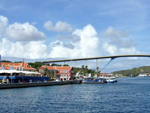 Curacao Willemstad Queen Juliana Bridge Sightseeing Trip Reservations