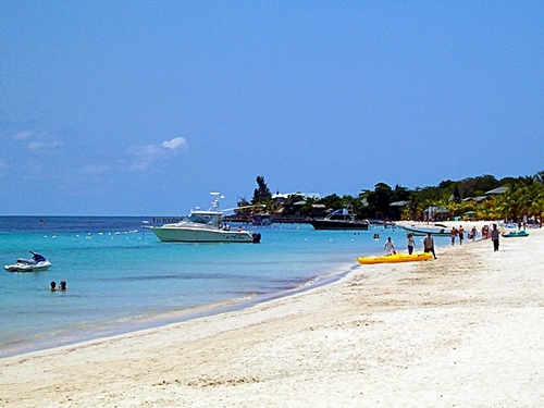 Roatan  Honduras beach break Cost