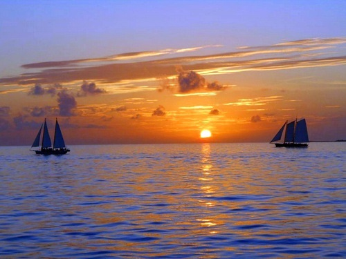 Key West  Florida / USA sunset sailing Trip Reviews