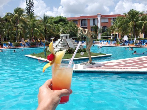 Cozumel  Mexico beach and pool area Tickets