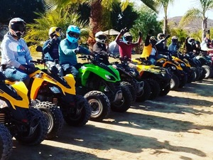 Ensenada ATV and Zip Line Adventure at Las Canadas Excursion