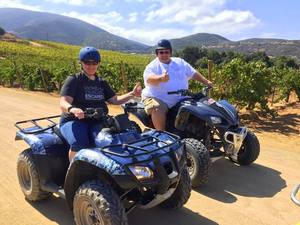 Ensenada ATV Countryside and Wine Route Excursion