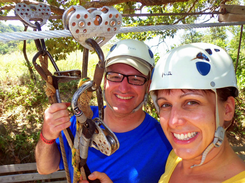 Roatan zip line and snorkel Cruise Excursion Tickets