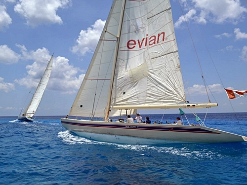Cozumel  Mexico sailboat racing Booking