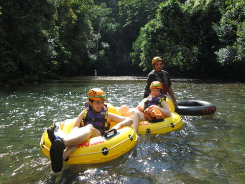 Belize gentle river float Cruise Excursion Prices