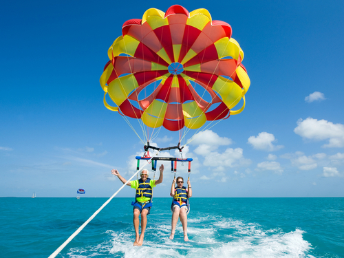 fort lauderdale florida key west parasailing excursion booking