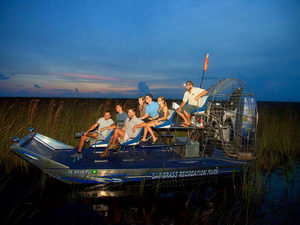 Fort Lauderdale Sawgrass Park Everglades Airboat Night Ride Excursion