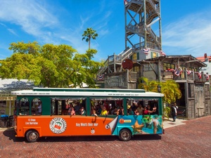 Fort Lauderdale to Key West Day Trip with Hop On Hop Off Trolley Excursion
