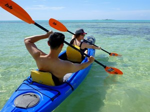 Freeport Peterson Cay Kayaking and Snorkel Excursion
