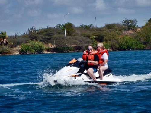 Curacao Willemstad guided jet ski Tour Cost