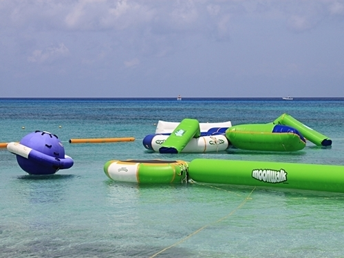 Cozumel floating water toys Tickets