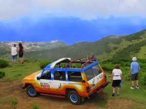 Funchal Southwest Coast Craters of Fire 4X4 Off-Road Excursion