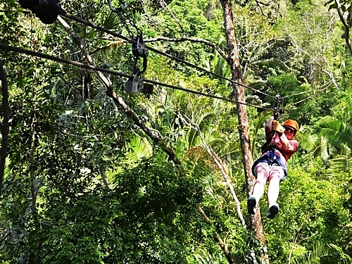Belize zip line and cave tubing Shore Excursion Prices