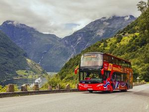 Geiranger Hop On Hop Off City Sightseeing Bus Excursion
