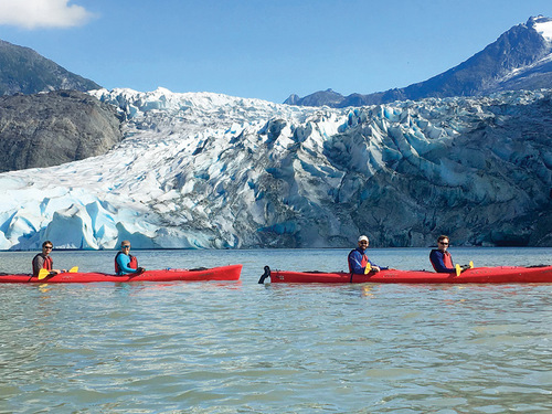 Juneau  Alaska / USA Snacks Kayak Tour Reservations