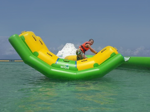 Cozumel water trampolines Reservations