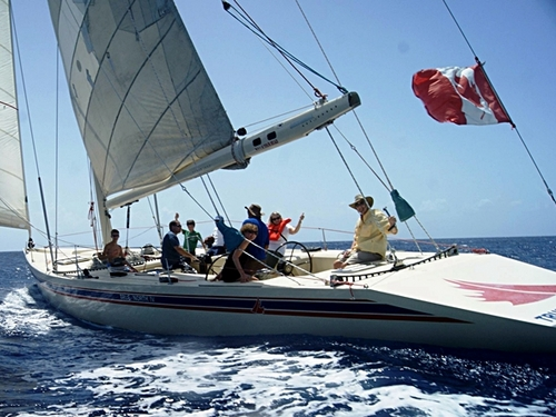 Cozumel sailboat racing Cruise Excursion
