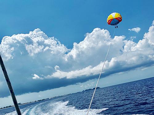 Grand Cayman Parasailing At Seven Mile Beach Excursion