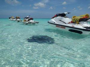 Grand Cayman Jet Ski and Shallow Barrier Reef Snorkel Excursion