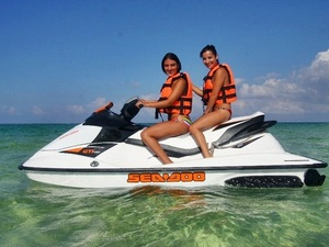 Grand Cayman Jet Ski Rental from Beach