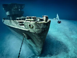 Grand Cayman Kittiwake Shipwreck 1 Tank SCUBA Dive Excursion