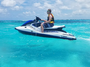 Grand Cayman Private Jet Ski Two Stops Custom Excursion