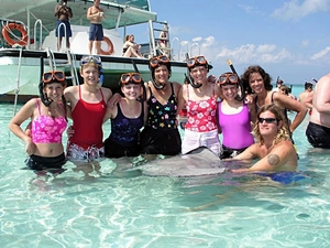 Grand Cayman Private Stingray City Catamaran Sail and Snorkel Excursion
