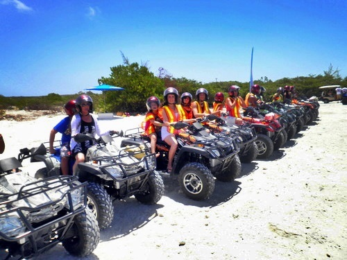 Grand Turk ATV Shore Excursion Booking
