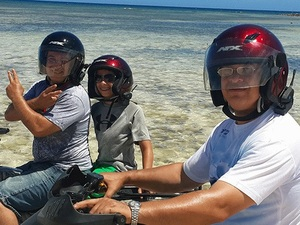 Grand Turk Island Trails and Beach ATV Excursion