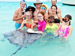 Grand Turk Reef Snorkel, Conch and Stingray Encounter Excursion at Gibbs Cay