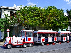 Grand Turk Rum Train Sightseeing and Beach Excursion - for Carnival Cruise Passengers Only