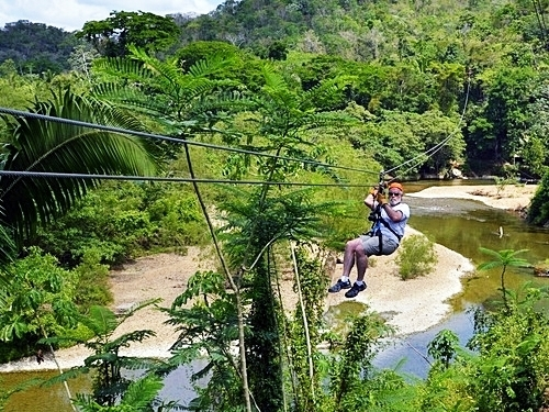 Belize zip line and cave tubing Excursion Reviews