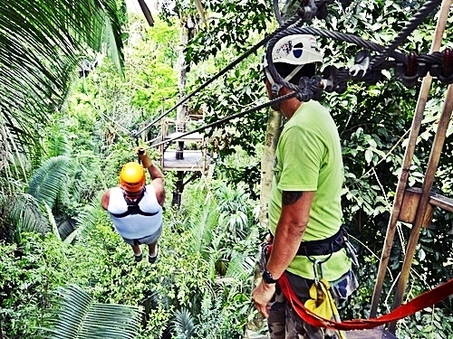 Belize City zip line and cave tubing Excursion Cost