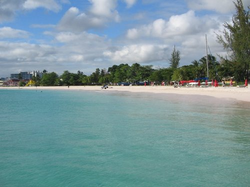 Barbados  West Indies (Bridgetown) Copacabana Beach Cost