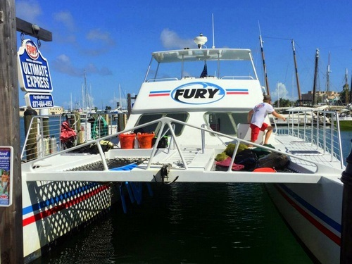 Key West  Florida Fury snorkel Tour Cost