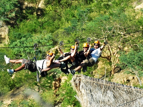Cabo San Lucas Mexico zip line Shore Excursion Tickets