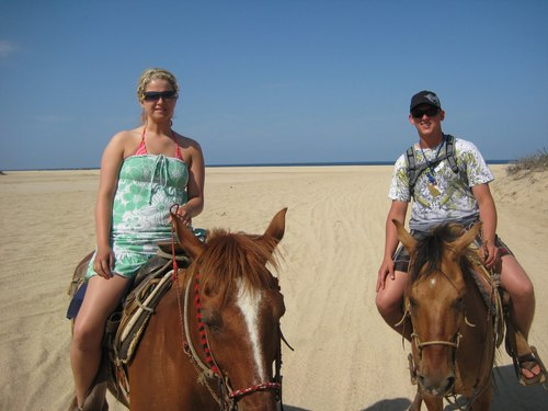 Ensenada beach horseback ride Tour Reservations