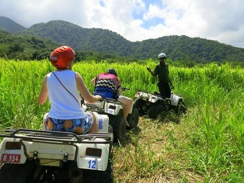 St. Kitts Basseterre All Terrain Vehicle Cruise Excursion Tickets