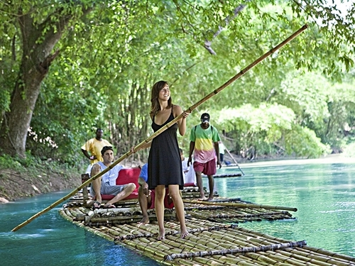 Falmouth  Jamaica bamboo raft ride Cost
