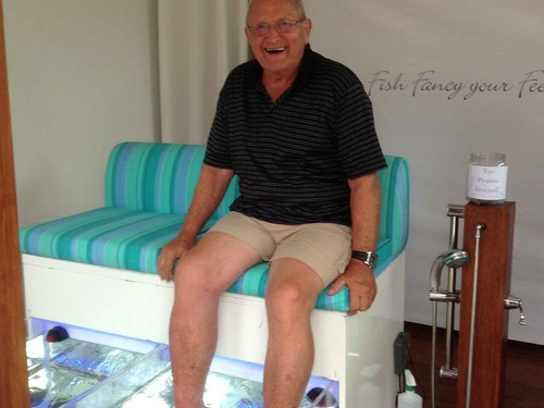 Cozumel Mr. Sanchos fish pedicure Tour Tickets